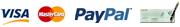 Visa, Mastercard, Paypal, Chèque